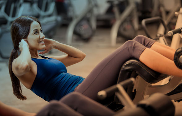 Women at Gym- SLC services